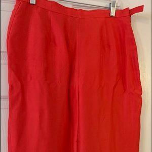 S.L.B line pants no scratch side zipper